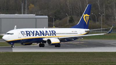 A picture of EIEBW - Boeing 7378AS - Ryanair - © Tom Mousel