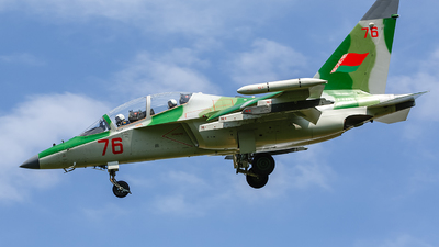 76 - Yakovlev Yak-130 - Belarus - Air Force