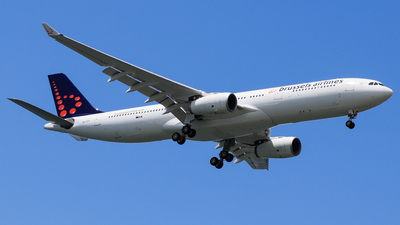 9V-STO - Airbus A330-343 - Brussels Airlines