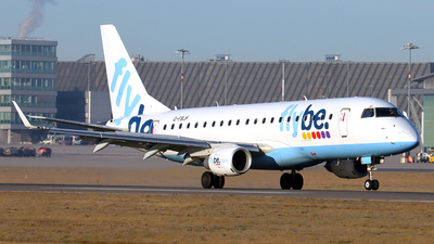 A picture of GFBJF - Embraer E175STD - Flybe - © Marco Wolf