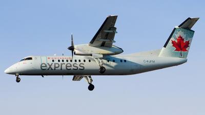 A picture of CFJFM - De Havilland Canada Dash 8300 - Air Canada - © Aaron Miles