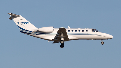 F-GVVB - Cessna 525B CitationJet 3 - Evolem Aviation