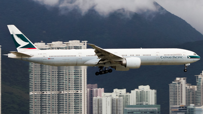 A picture of BKQZ - Boeing 777367(ER) - Cathay Pacific - © hongkongaviation