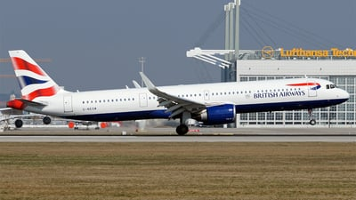 G-NEOW - Airbus A321-251NX - British Airways