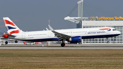 A picture of GNEOW - Airbus A321251NX - British Airways - © Hugo Schwarzer