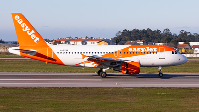 A picture of GEZBR - Airbus A319111 - easyJet - © Carlos Miguel Seabra