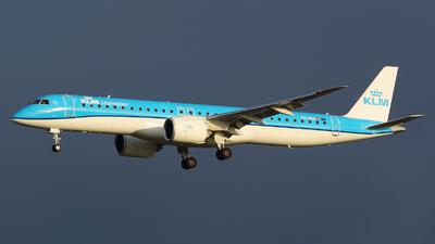 PH-NXD - Embraer 190-400STD - KLM Cityhopper