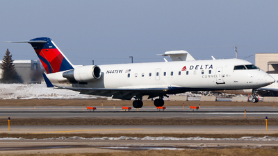 N447SW - Bombardier CRJ-200ER - Delta Connection (SkyWest Airlines)