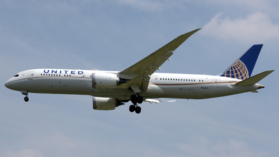N24973 - Boeing 787-9 Dreamliner - United Airlines
