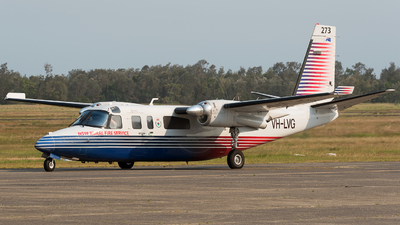 VH-LVG - Rockwell 690B Turbo Commander - New South Wales Rural Fire Service (NSW RFS)