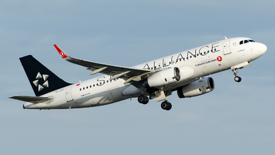 A picture of TCJPP - Airbus A320232 - Turkish Airlines - © Alp AKBOSTANCI
