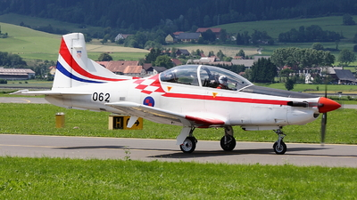 062 - Pilatus PC-9M - Croatia - Air Force