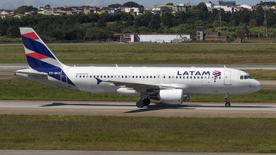 A picture of PRMHZ - Airbus A320214 - LATAM Airlines - © Rolf Jonsen