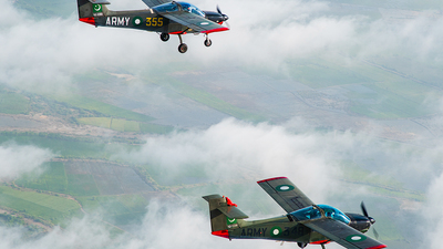 92-5348 - Pakistan MFI-17 Mushshak - Pakistan - Army Aviation