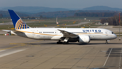 A picture of N27901 - Boeing 7878 Dreamliner - United Airlines - © John Richard