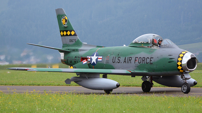 F-AYSB - Canadair CL-13B-6 Sabre - Private