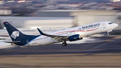 N520AM - Boeing 737-81Q - Aeromexico
