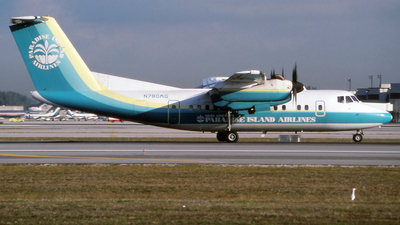 N780MG - De Havilland Canada DHC-7-102 Dash 7 - Paradise Island Airways