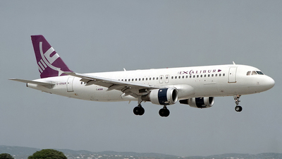 G-KMAM - Airbus A320-232 - Excalibur Airways