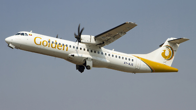XY-AJS - ATR 72-212A(600) - Golden Myanmar Airlines