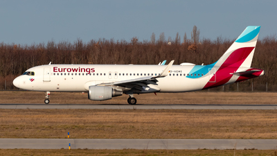 A picture of DAEWG - Airbus A320214 - Eurowings - © Julian Azeroth