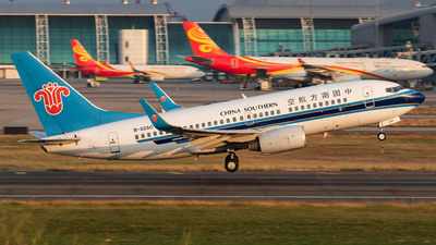 A picture of B5250 - Boeing 73771B - China Southern Airlines - © Jack  Li