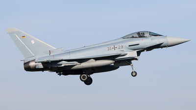 31-29 - Eurofighter Typhoon EF2000 - Germany - Air Force