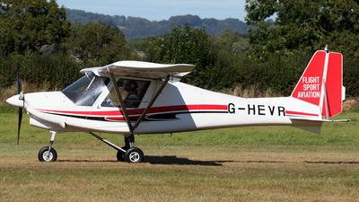 G-HEVR - Ikarus C-42 FB80 - Private