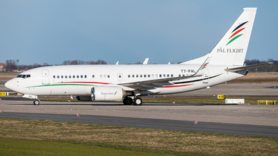 T7-PAL - Boeing 737-7GJ(BBJ) - Arab Wings
