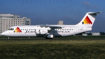 G-JEBD - British Aerospace BAe 146-300 - Jersey European Airways