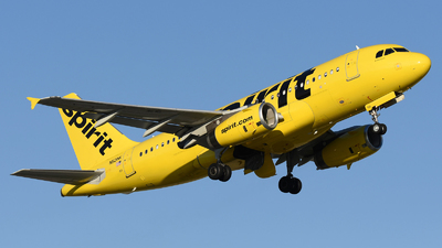 A picture of N521NK - Airbus A319132 - [2797] - © DJ Reed - OPShots Photo Team