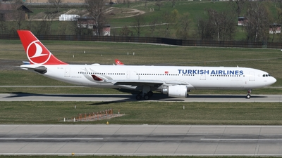 A picture of TCJOL - Airbus A330303 - Turkish Airlines - © Sven Stephan