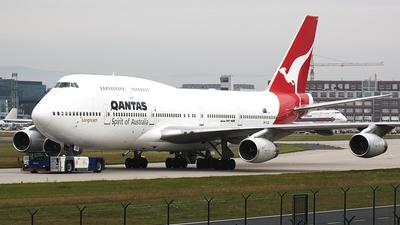 VH-OJD - Boeing 747-438 - Qantas