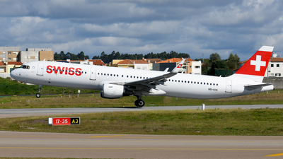 A picture of HBION - Airbus A321212 - Swiss - © Rui Marques