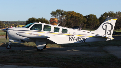 VH-WDW - Beechcraft A36 Bonanza - Private