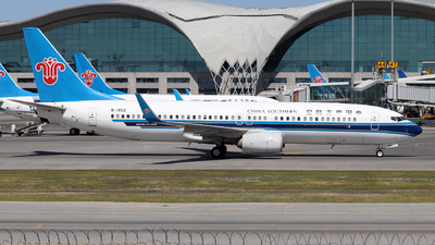 A picture of B1952 - Boeing 73781B - China Southern Airlines - © Tongjun XIANG