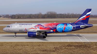 VP-BWE - Airbus A320-214 - Aeroflot