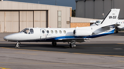 A picture of VHZLE - Cessna 550 Citation II - [5500347] - © Andrew Lesty
