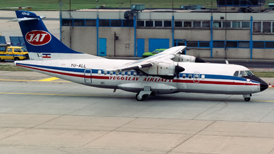YU-ALL - ATR 42-300 - JAT Yugoslav Airlines