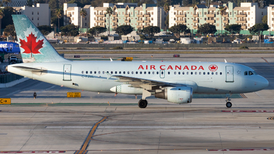 A picture of CFZUL - Airbus A319114 - Air Canada - © Eric Esots