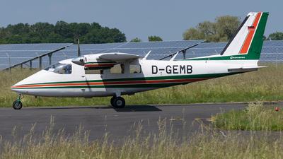 D-GEMB - Partenavia P.68B Victor - Private