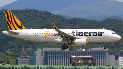 A picture of B50001 - Airbus A320232 - Tigerair Taiwan - © R-H Chen