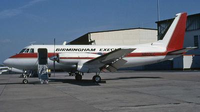 N803CC - Grumman G-159 Gulfstream G-I - Birmingham Executive Airways