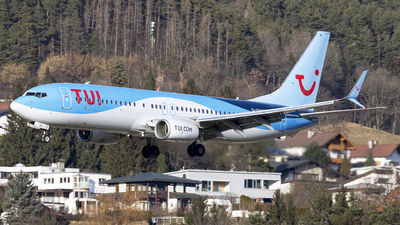 A picture of GTAWL - Boeing 7378K5 - TUI fly - © Loredana Cioclei