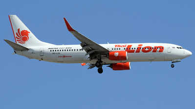 A picture of HSLUL - Boeing 7378GP - Thai Lion Air - © Omid83