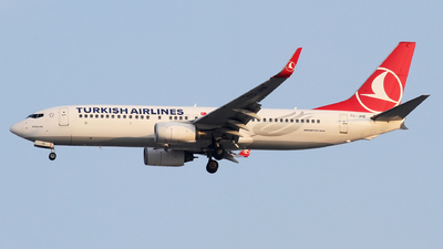A picture of TCJHB - Boeing 7378F2 - Turkish Airlines - © Ali Mithat Ozdogan