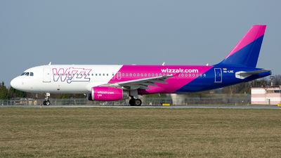 HA-LWE - Airbus A320-232 - Wizz Air