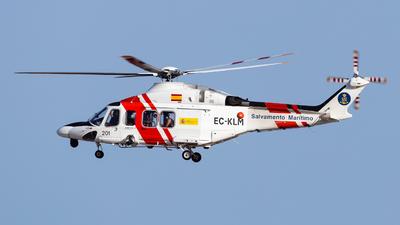 EC-KLM - Agusta-Westland AW-139 - Spain - Sociedad de Salvamento y Seguridad Marítima (SASEMAR)