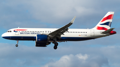 A picture of GTTNK - Airbus A320251N - British Airways - © RJL