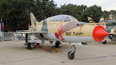 3-7721 - Chengdu F-7MB - Iran - Air Force